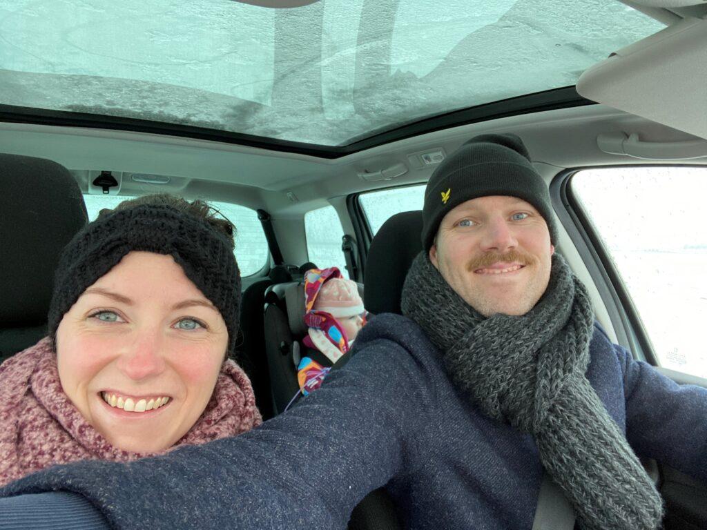 Samen in de auto